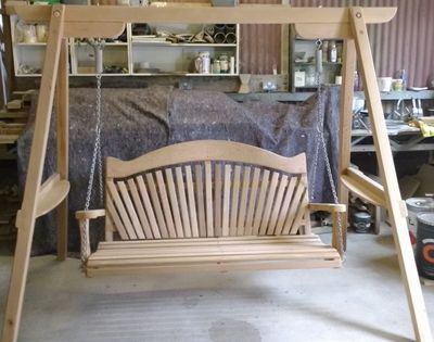 Serenity Garden Swing Seat Workshop Photo