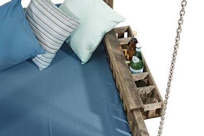 Swinging Day Bed drinks holder