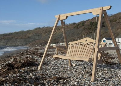 Tranquility Swing Seat On Beach Lyme Regis
