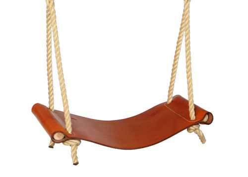 Leather Rope Swing