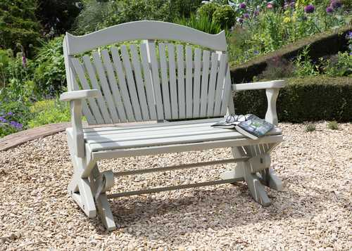 Rocking Garden Bench - The Rockabye