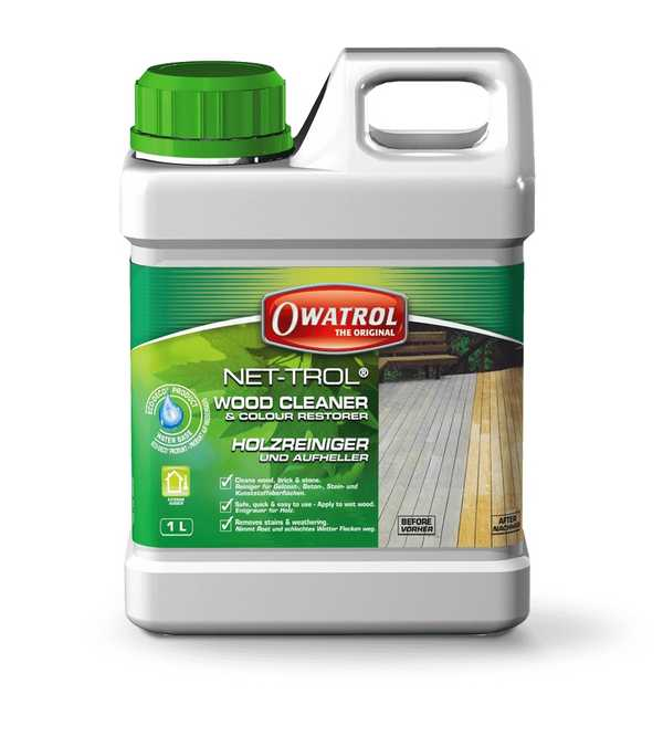 Net-Trol Wood Cleaner