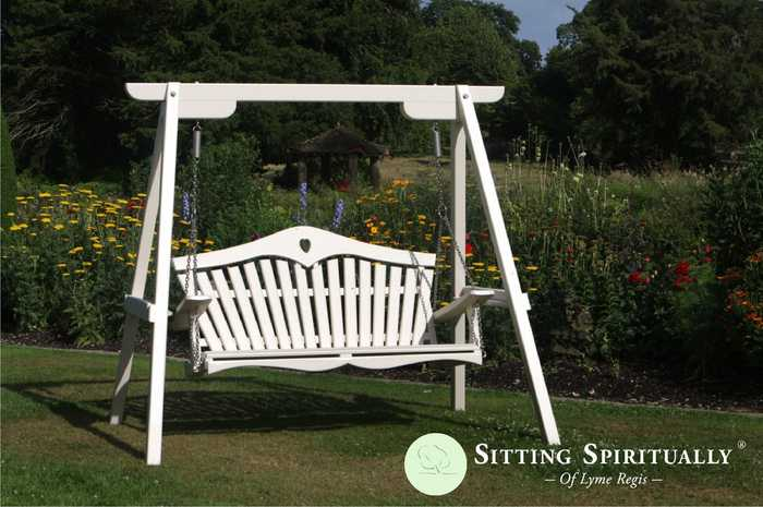 Garden Swing Seat Painted Harmony