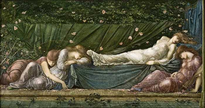 The Sleeping Beauty, from the Legend of the Briar Rose by Burne Jones