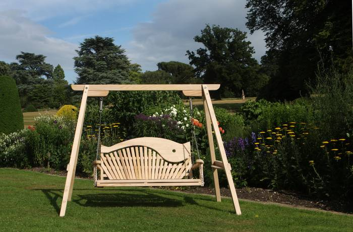 Serenity Swing Seat at Forde Abbey