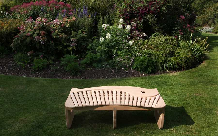 Swirl Bench by Sitting Spiritually