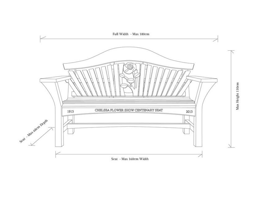 RHS Centenary Bench Garden Furniture | Sitting Spiritually