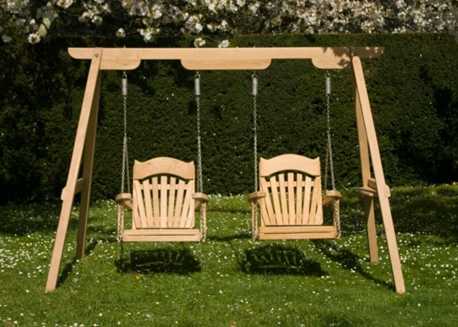 Wooden Garden Swings For Children and Adults | Sitting ...