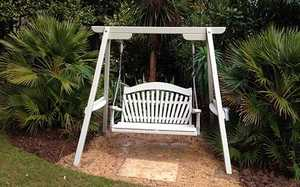 Swing Seat at Abbotsbury Subtropical Gardens