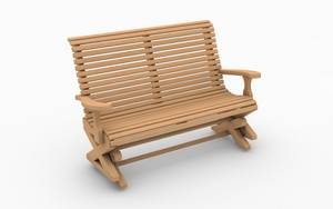 Swing seat design - wooden