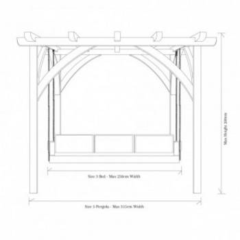 Swinging Day Bed Dimensions